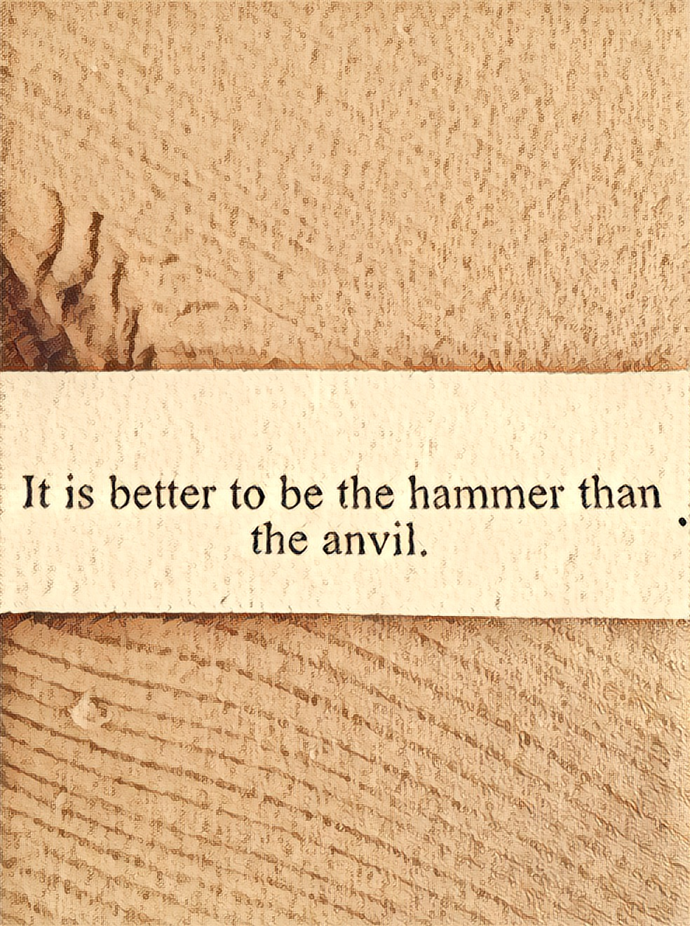 Be The Anvil Not The Hammer Mary Scherf Writer Amp Author